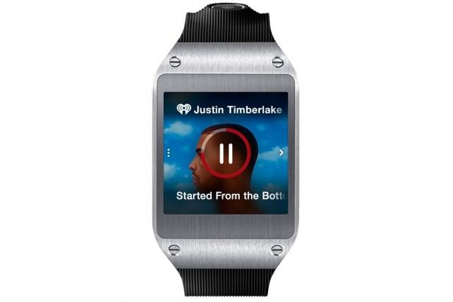 iHeartRadio's smart watch app