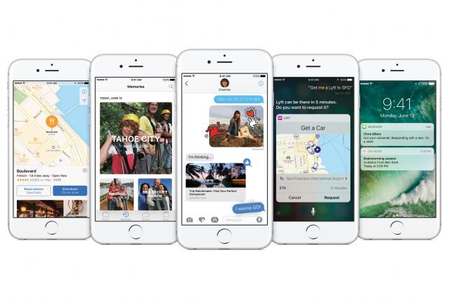 New features include enhancements to photos, maps and messaging.