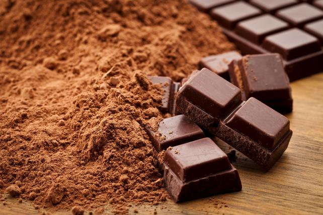 Regular 'ol milk chocolate.
