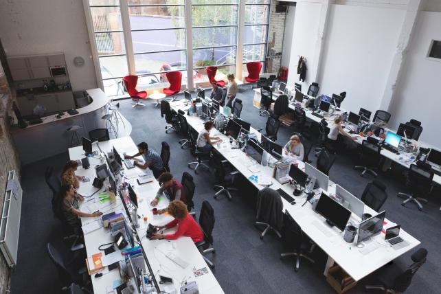 Agency Brief: To enjoy in the privacy of your open office