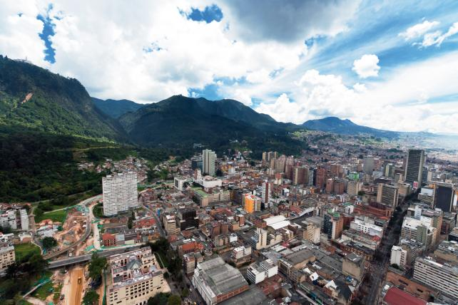 As a hub, Colombia benefits from its location in the middle of Latin America and a relatively stable business environment.