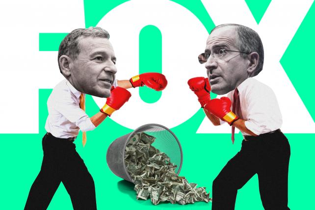 Comcast makes $65 billion offer for Fox assets -- and this means war