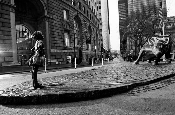State Street Global Advisors' fearless girl