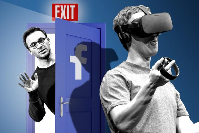 Oculus co-founder joins Facebook's list of acquisition departures