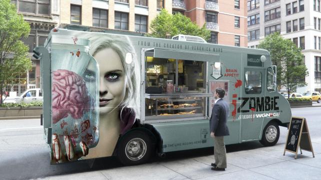 The CW's 'iZombie' food truck