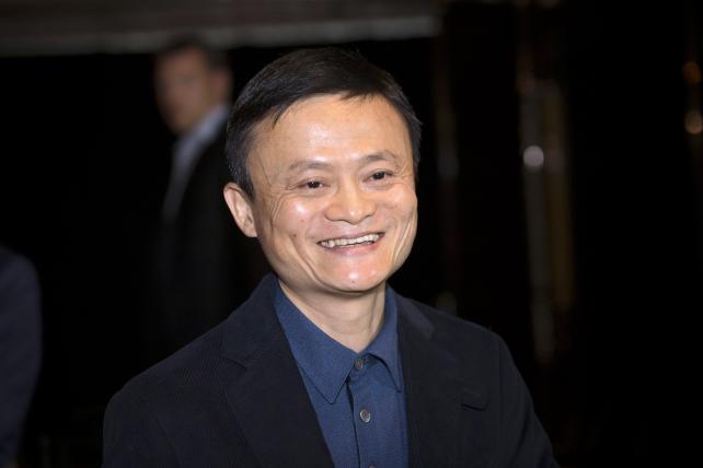 Alibaba Group Holding Chairman Jack Ma.