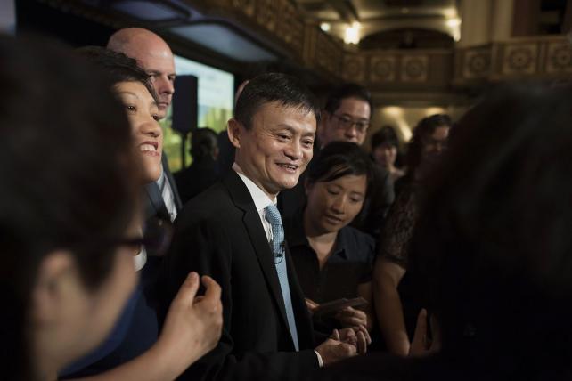 Billionaire Jack Ma, chairman of Alibaba.
