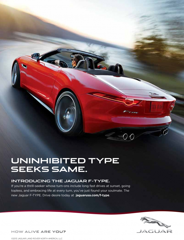 Jaguar Positions F Type Roadster As The Badass On The Block News