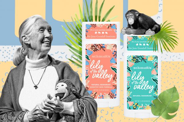 Now you, too, can smell like Jane Goodall