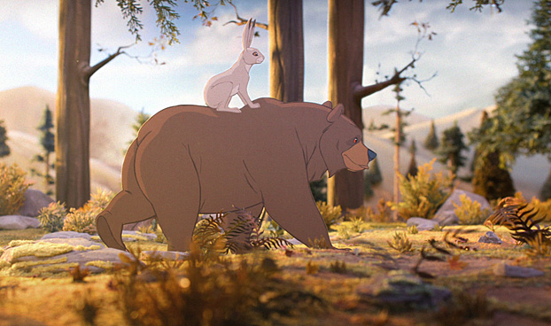 John Lewis' famous The Bear and the Hare spot