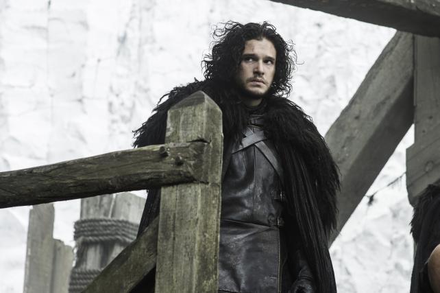 Kit Harington as Jon Snow on 'Game of Thrones.'