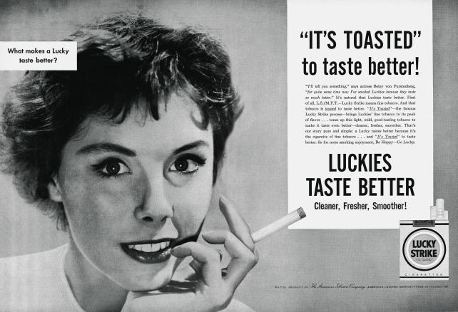 Lucky Strike, 1954