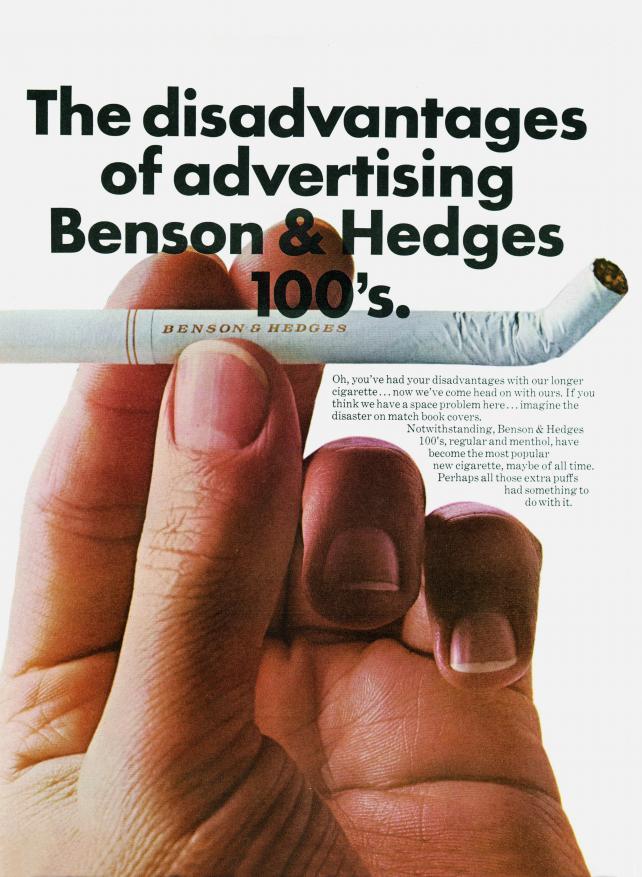 Benson & Hedges, 1968