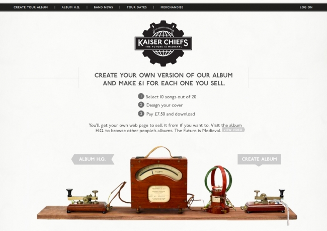 Kaiser Chiefs: Create Your Own Album -- Best of 2011 IX #4