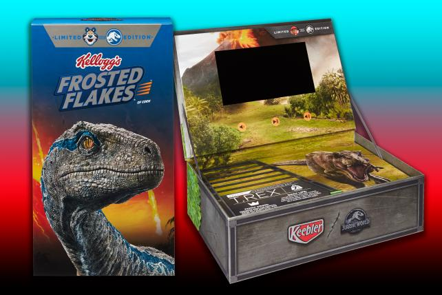 Kellogg's bets 'Jurassic' fans are, er, hungry for content