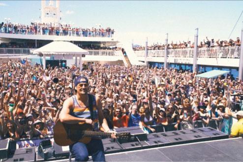 Band cruises keep soaking up crowds