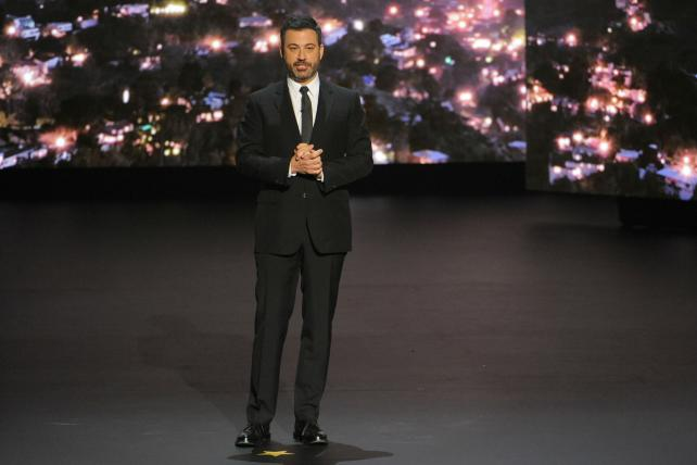 'Roseanne' may be No. 1, but Kimmel steals the show at the ABC upfront