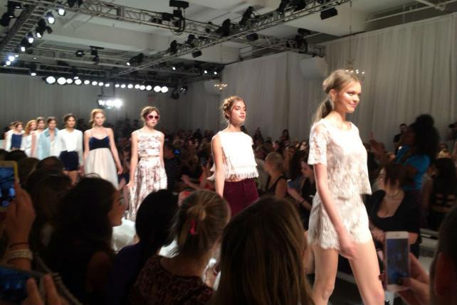 Kohl's kicked off New York Fashion Week 2015 with a livestreamed runway show featuring Lauren Conrad's new collection.