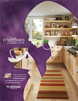 KraftMaid Launches Campaign With Renovation Message