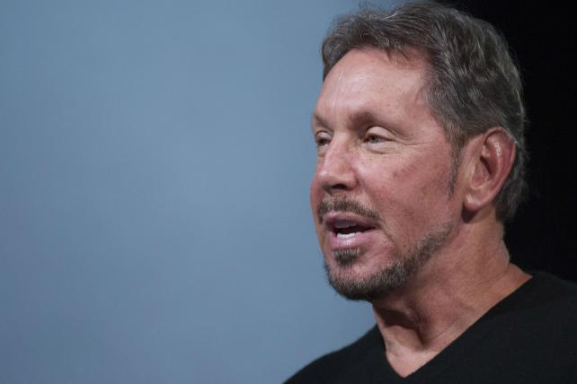 Larry Ellison steps down from CEO role at Oracle.
