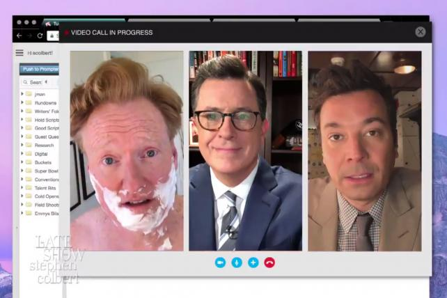 Wednesday Wake-Up Call: Colbert, Fallon and Conan troll Trump together. Plus, Google's ad business rebrands