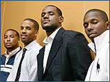 All The King's Men: The LeBron James Version of 'Entourage'