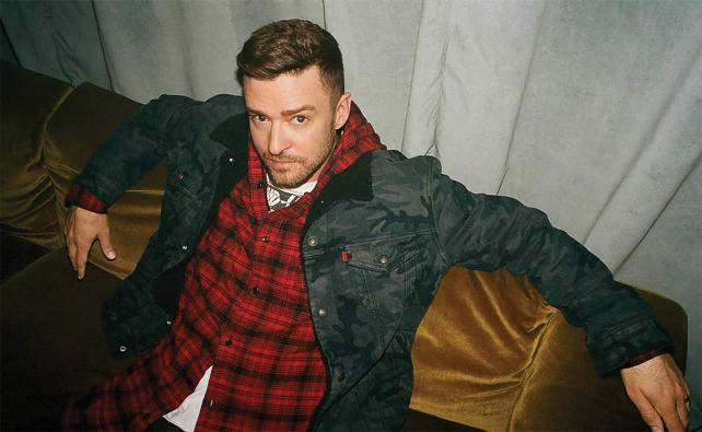 Levi's is collaborating with Justin Timberlake