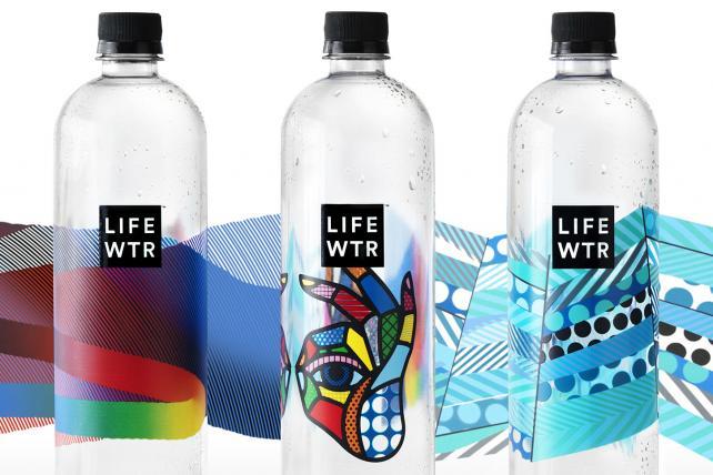PepsiCo's new Lifewtr brand.