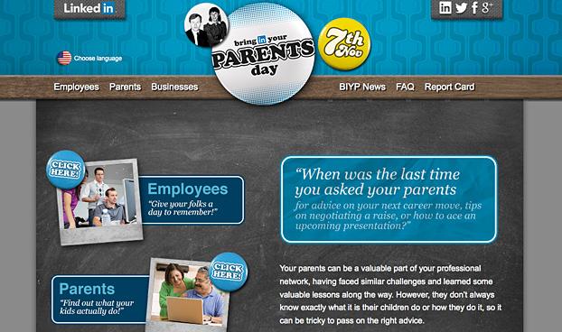 LinkedIn: Bring Your Parents