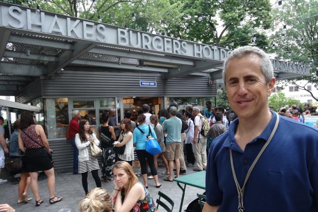 Shake Shack's Danny Meyer: 'Sometimes I Want to Stand in Line'