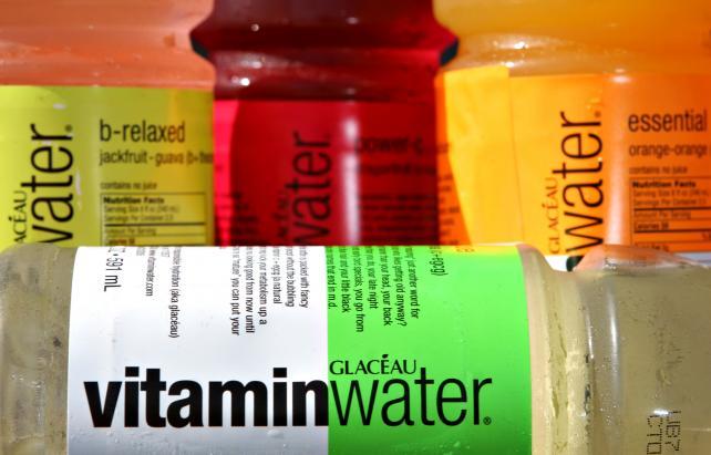 Bottles of Vitaminwater in 2007.