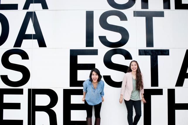 Grace Espejel and Marcela Angeles