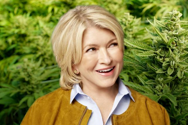 Image result for martha stewart cannabis