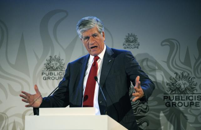 Maurice Lévy Talks Rivalry and Succession at Advertising Week Europe