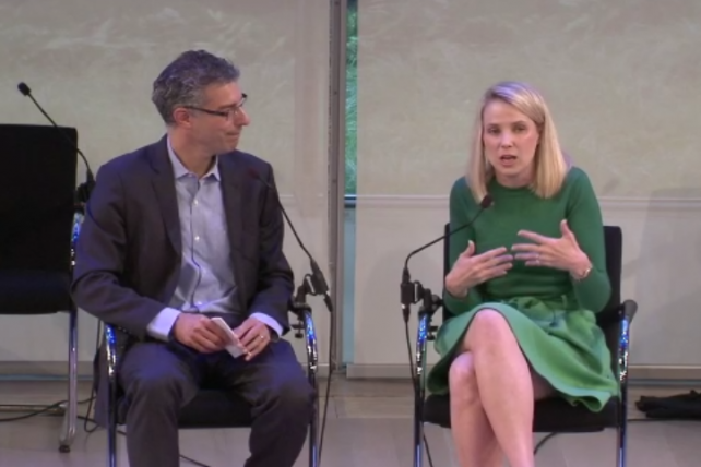 Video Is 'Display 2.0': Marissa Mayer Woos Advertisers With the 'Yahoo Brand'
