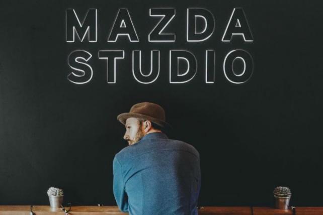 Sam Ciurdar at the Mazda Studio at SXSW in March