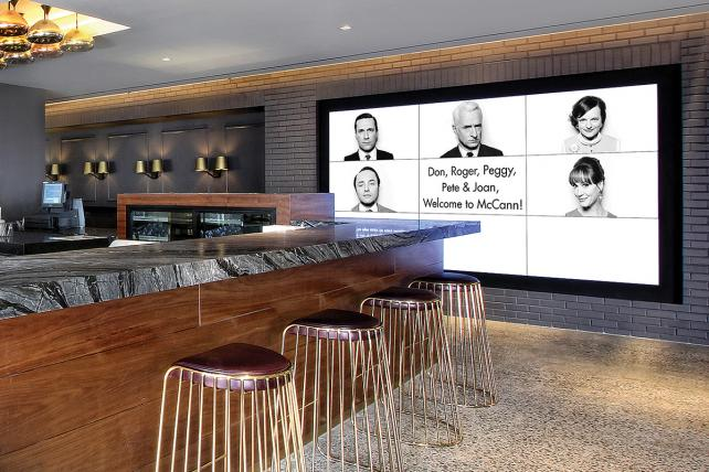 McCann's lobby