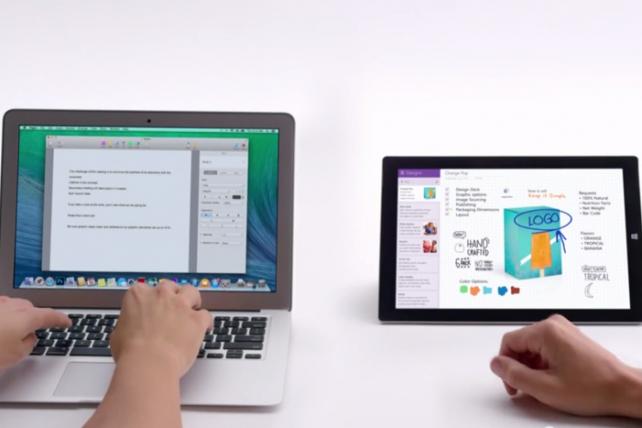 Microsoft Flips Famed PC vs. Mac Ads to Pitch Smartphones, Tablets