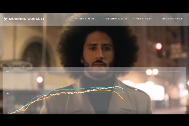 Real-time reaction: Watch Nike's Kaepernick ad expose a generational divide