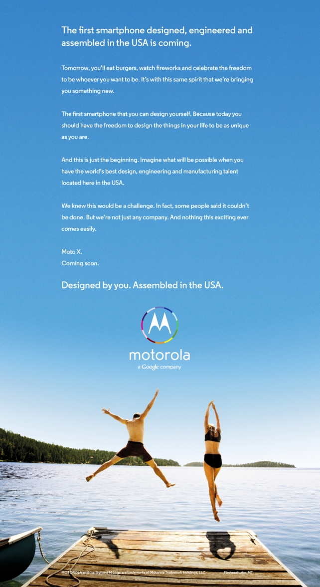 Iklan Moto X