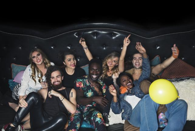 The cast of MTV's 'Real World: Go Big or Go Home.'