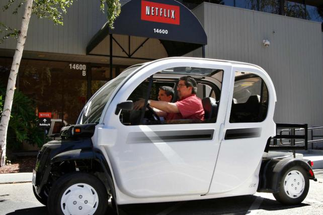 Netflix is on the move.