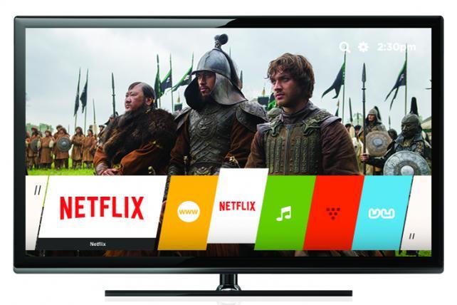 A Netflix-ready TV.