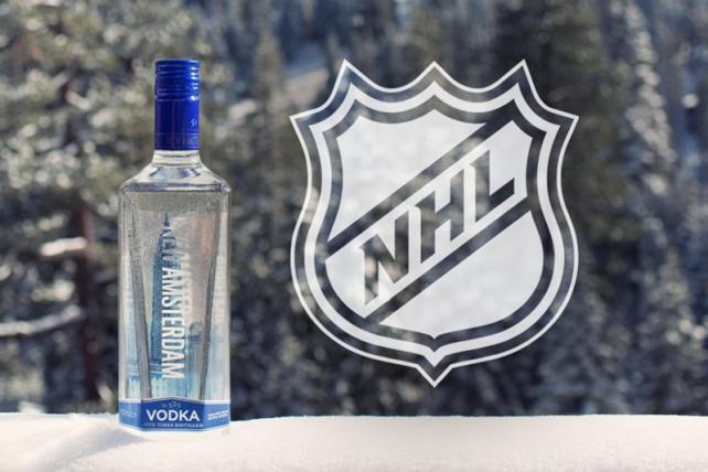 New Amsterdam Vodka shoots for more awareness with NHL deal