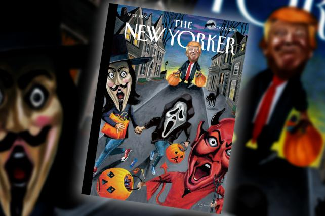 Trick-or-Trump: The New Yorker gives POTUS the Halloween treatment