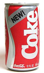 New Coke: One of Marketing's Biggest Blunders Turns 25 ...