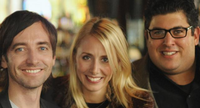 Noble People's Todd Alchin, Lindsay Lustberg and Greg March