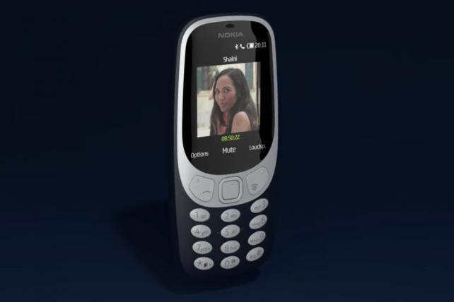 The Nokia 3310.
