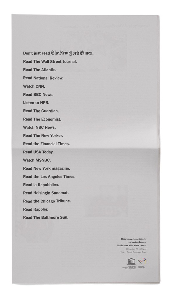 Page A7 of today's New York Times.