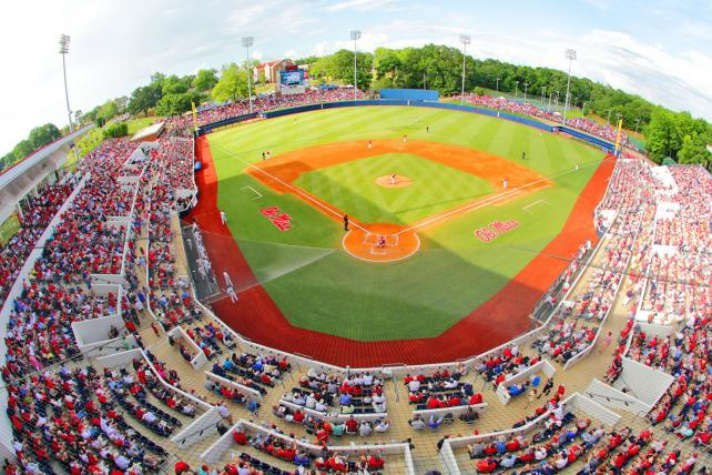 Swayze Field at Ole Miss